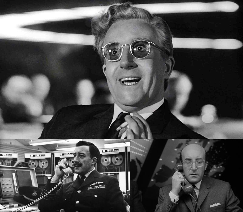 Peter Sellers As Dr Strangelove In Dr Strangelove Or: The Legacy Of The Goon Show
